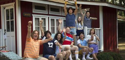 Die Teenies haben Spaß in Wet Hot American Summer: First Day of Camp