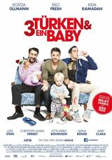 3 Türken und ein Baby - Poster