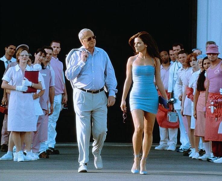 Miss Undercover mit Michael Caine und Sandra Bullock