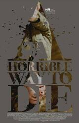 A Horrible Way to Die - Liebe tut weh - Poster