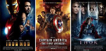Iron Man, Cap und Thor