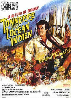 Donner über dem indischen Ozean