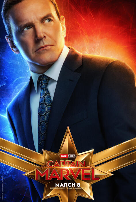 Captain Marvel mit Clark Gregg