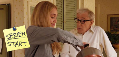 Miley Cyrus und Woody Allen in Crisis in Six Scenes, Staffel 1