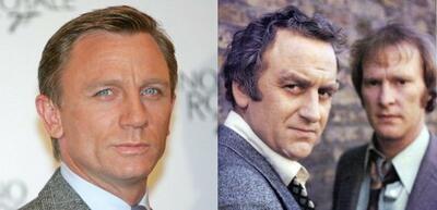 Tritt Daniel Craig (li.) in die Fußstapfen seiner Vorgänger (re.)?