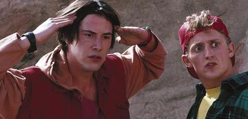 Keanu Reeves & Alex Winters in Bill & Ted's verrückte Reise in die Zukunft