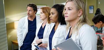 Grey's Anatomy - Staffel 13: Nathan Riggs, April Kepner, Stephanie Edwards und Arizona Robbins