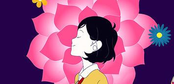 Bild zu:  Das Mädchen mit den schwarzen Haaren