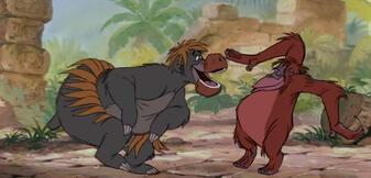 Nicht nur Balu und Louie tanzen so...