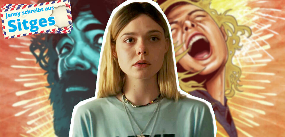 Elle Fanning in I Think We're Alone Now