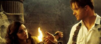 Brendan Fraser und Rachel Weisz in Die Mumie
