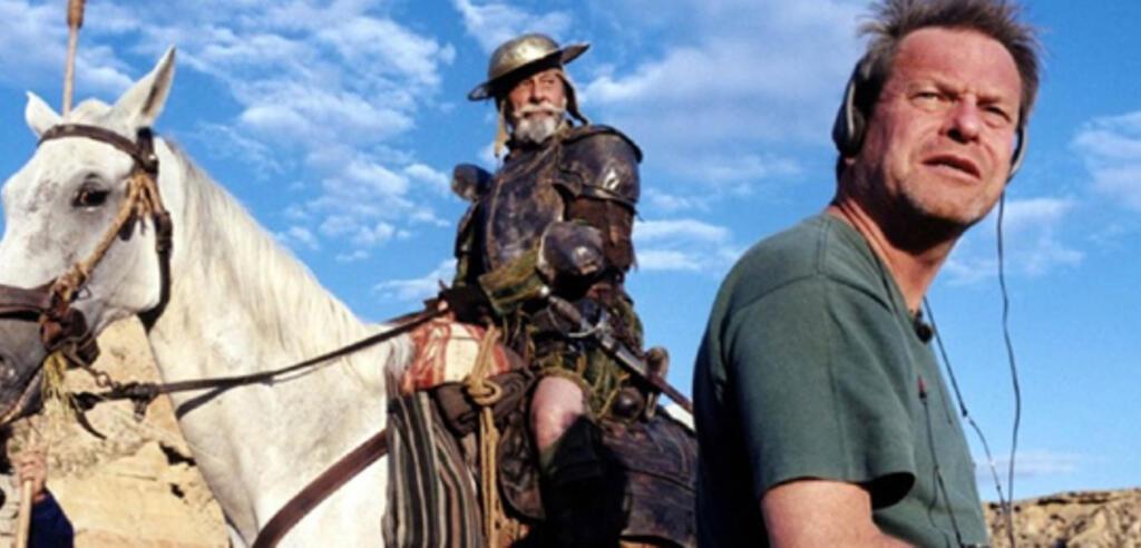 Szene aus Lost in La Mancha