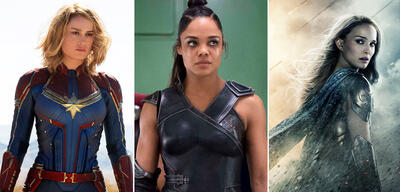 Captain Marvel / Thor 3: Ragnarok / Thor 2: The Dark Kingdom