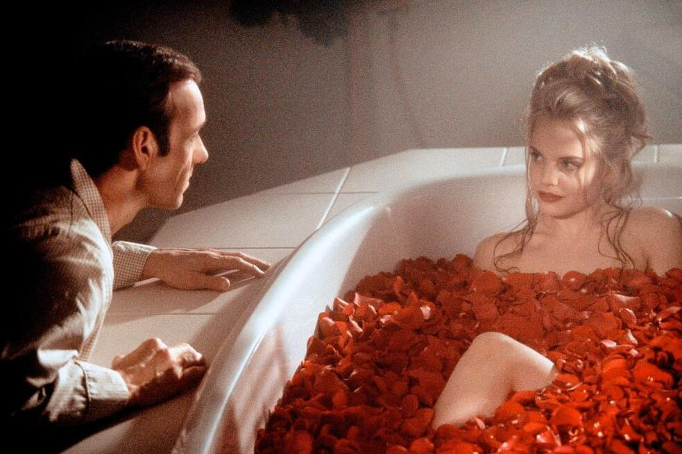 American Beauty mit Kevin Spacey und Mena Suvari