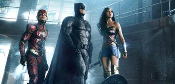 Flash, Batman und Wonder Woman