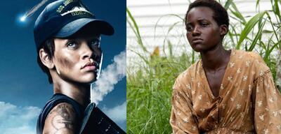 Rihanna und Lupita Nyong'o