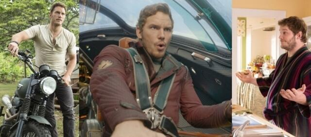 Chris Pratt in Jurassic World, Guardians of the Galaxy & Lieferheld