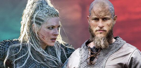 Vikings: Lagertha und Ragnar