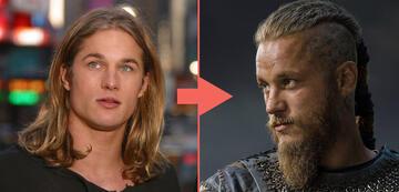 Travis Fimmel als Tarzan und Ragnar Lothbrok