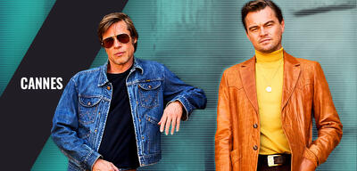 Leonardo DiCaprio und Brad Pitt in Once Upon a Time in Hollywood