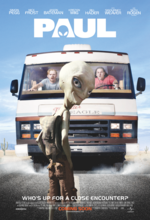 Paul - Ein Alien auf der Flucht Poster