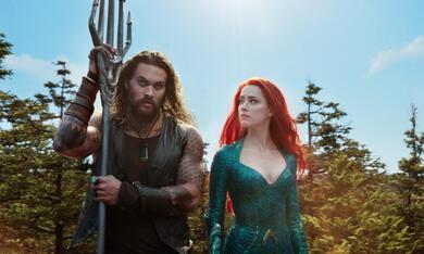 Aquaman mit Amber Heard und Jason Momoa - Bild 1