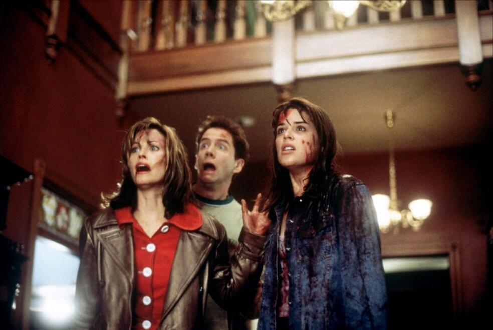 Scream - Schrei! mit Courteney Cox, Neve Campbell und Jamie Kennedy