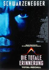Die totale Erinnerung - Total Recall - Poster