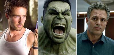 Edward Norton und Mark Ruffalo spielten Hulk