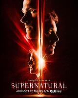 Supernatural - Staffel 13 - Poster