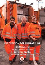 Die Drei von der Müllabfuhr – Operation Miethai - Poster