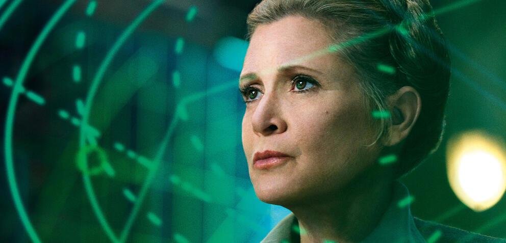 Carrie Fisher in Star Wars: Episode 7 - Das Erwachen der Macht