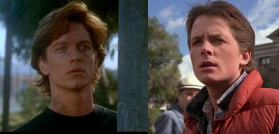 Eric Stoltz/Michael J. Fox