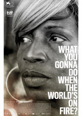 What You Gonna Do When the World's on Fire - Poster