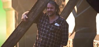 Peter Jackson am Set von Der Hobbit 3