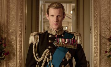 Matt Smith in The Crown