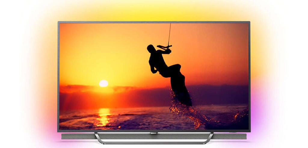 Philips 55 Zoll UHD-Fernseher im Tagesangebot.