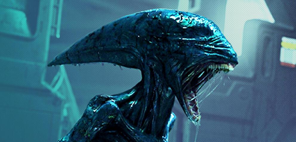 Das Alien in Prometheus