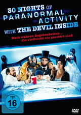 30 Nights of Paranormal Activity with the Devil Inside - Poster
