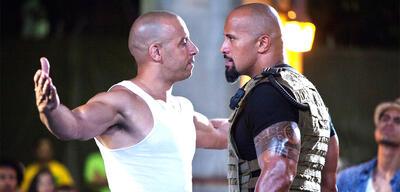 Vin Diesel und Dwayne Johnson