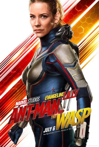 Ant-Man and the Wasp mit Evangeline Lilly