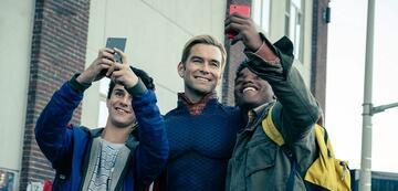 Selfie-Time mit dem Homelander