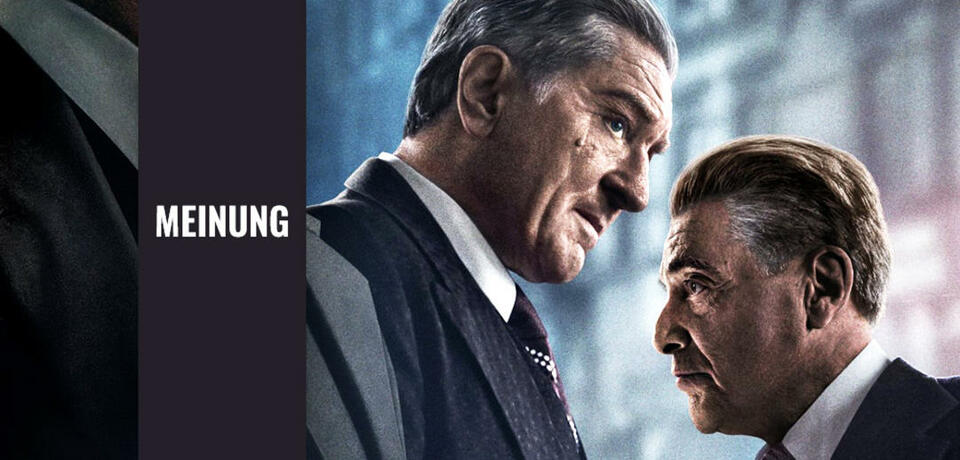Robert De Niro und Al Pacino in The Irishman