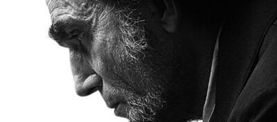 Daniel Day-Lewis' Lincoln ist schwer am Grübeln.