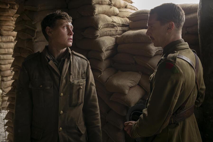 1917 mit Benedict Cumberbatch und George MacKay