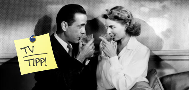Humphrey Bogart & Ingrid Bergman inCasablanca