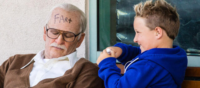 Johnny Knoxville als Bad Grandpa