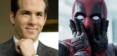 Ryan Reynolds in Selbst ist die Braut und Deadpool
