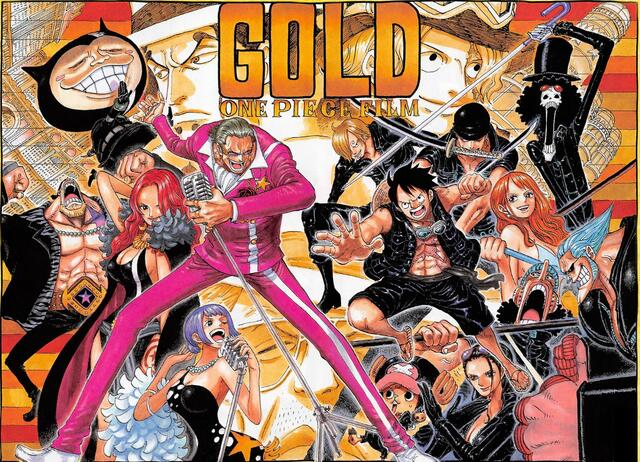 Farbcover zu One Piece Film: Gold