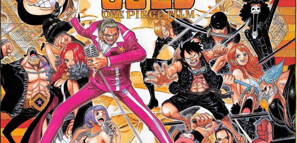 One Piece Filme Gold Stream